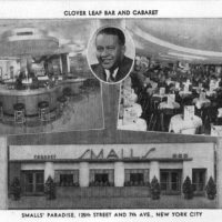 "Tommy ""Mayor Of Harlem"" Smalls Paradise In Harlem, NY, 1926-1972"