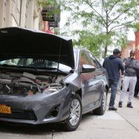 Mom Literally Gives Son Driving Crash Course In Harlem