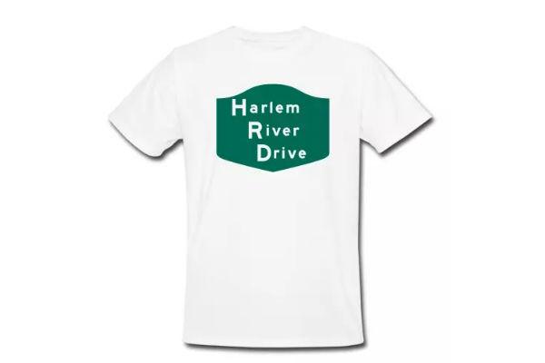 """Harlem River Drive"", New 100% Organic Cotton T-Shirt"
