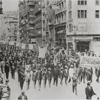 """The Negro Silent Protest Parade"" Formed By Harlem's St. Philip's Church, 1917"