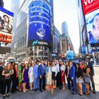 Harlem Fave NYC Surgeon Dr. Bernard Fialkoff And Team Ring NASDAQ Opening Bell