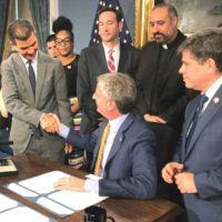 Mayor Bill de Blasio, Harlem's Ydanis Rodriguez And Others Sign Hookah Bills Into Law