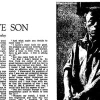 Harlem's Native Son, An Interview With James Baldwin, 1962