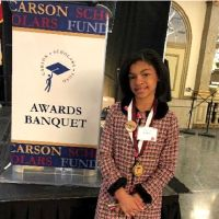 5th Grader At Ascension School In Harlem Awarded Carson Scholarship In Baltimore