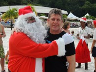 Andy Townsend at Buccament Bay Resort, Christmas 2012