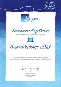 Buccament Bay Resort Wins Saga Top Performer & Good Food