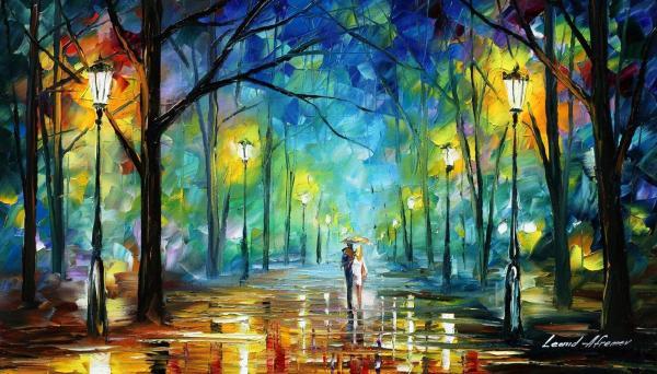 Leonid Afremov Famous Art Paintings