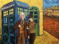 Van Goghs Parodied Art  The Harlequin Tea Set