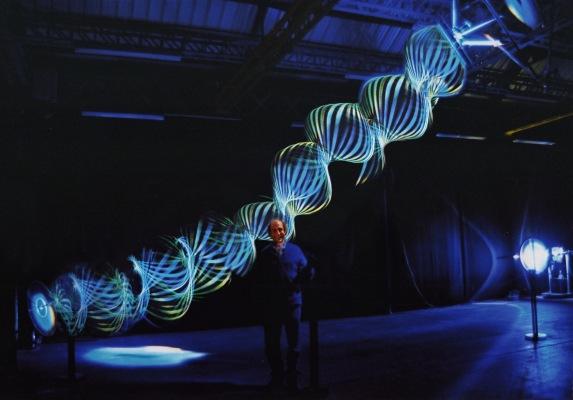 Paul Friedlanders Beautiful Kinetic Light Sculptures