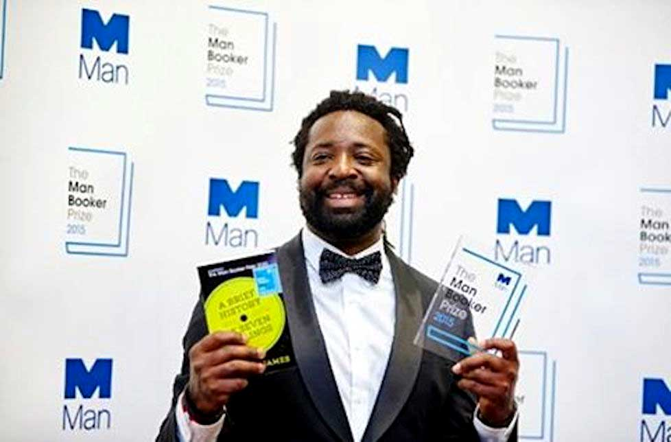First Jamaican to win Man Booker prize for fiction.