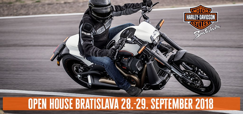 Open House 2018 Harley-Davidson Bratislava
