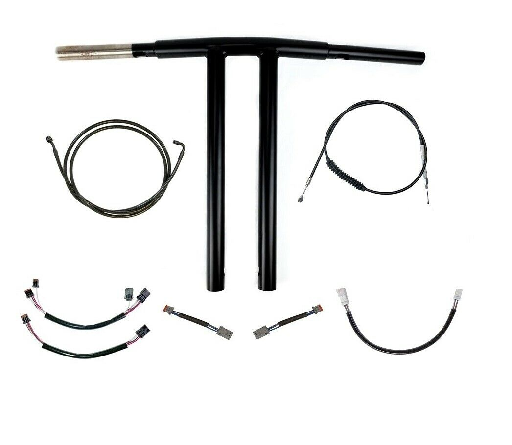 2020 Low Rider S T-Bars Handlebar kit 12,14 or 16″ for