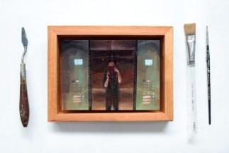 SOLD $550 Framed