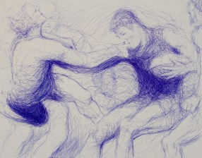 The Players 97x 130cm 2012