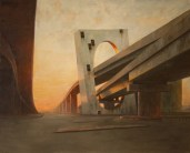 Manifold Harley The West 2010 Oil on linen130x162