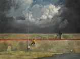 Manifold_Harley_Chasing_The_Master_2008_Oil_on_Linen_97x130