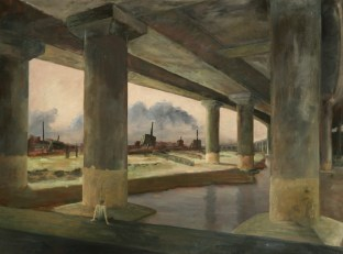 Manifold_Harley_The_Overpass_2008_Oil_on_Linen_97x130