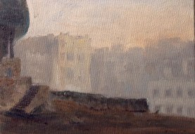 Study for The Border 10 x 15 cm (1 of 1)
