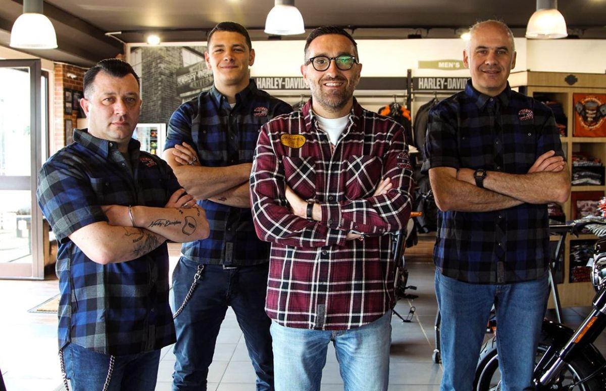 Harley-Davidson Viterbo-Staff_Negozio