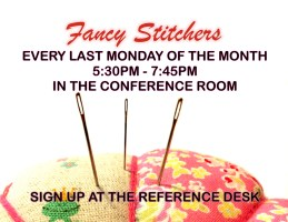 Fancy Stitchers @ Harlingen Public Library - Conference Room