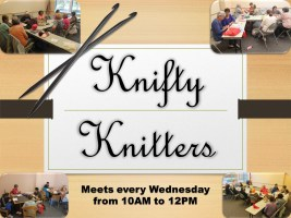 Knifty Knitters @ Harlingen Public Library - Quiet Room