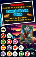Comic Book Club! @ Harlingen Public Library - Nonfiction Quiet Room