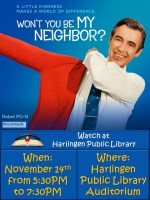 True Story Cinema - Won't you be my Neighbor? @ Harlingen Public Library - Auditorium