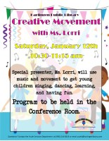 Creative Movement @ Conference Room
