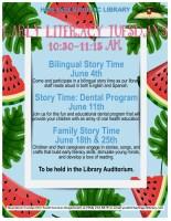 Family Story Time (Bilingual) @ Children's Auditorium