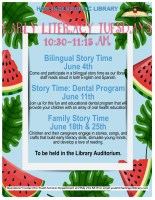 Family Story Time @ Children's Auditorium