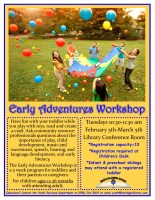 Early Adventures Workshop @ Conference Room