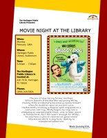 Classic Movie Cinema - The Shaggy Dog @ Harlingen Public Library - Auditorium