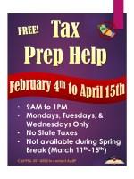 AARP Tax Preparation @ Harlingen Public Library - Auditorium