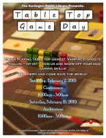 Teen TableTop Game Day @ Harlingen Public Library - Conference
