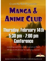 Manga & Anime Club @ Harlingen Public Library - Conference
