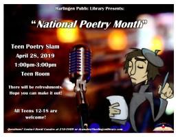 Teen Poetry Slam @ Harlingen Public Library- Teen Room