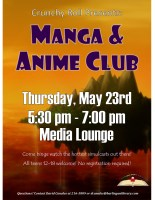 Manga & Anime @ Harlingen Public Library- Teen Room