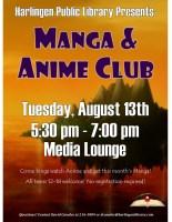 Manga & Anime Club @ Harlingen Public Library- Idea Lab