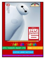 Big Hero 6 @ Harlingen Public Library - Auditorium