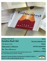 Sunshine Book Club @ Harlingen Public Library - Quiet Room