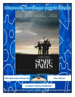 Hispanic Heritage Movie: Spare Parts @ Harlingen Public Library - Auditorium