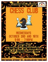 Chess Club @ Harlingen Public Library Children's Auditorium
