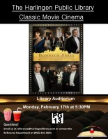Movies & More @ Harlingen Public Library - Auditorium