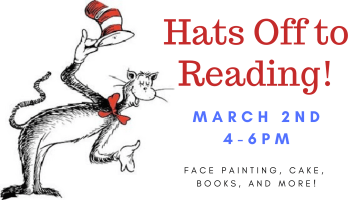 Hats Off to Reading @ Library Courtyard