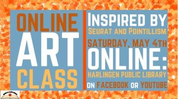 Art Class @ Harlingen Public Library Facebook Page