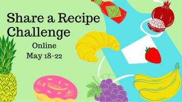 Share a Recipe Challenge @ Your house