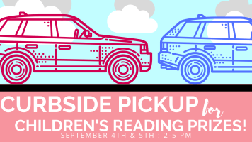 Curbside Prize Pick-up @ Harlingen Public Library Circle Drive