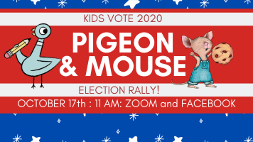 Pigeon Election Rally @ Harlingen Public Library Facebook Page