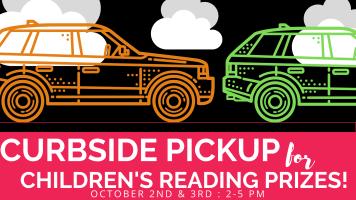 Curbside Prize Pickup @ Half-Circle Driveway