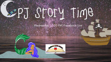 PJ Story Time: Fall 2020 @ Harlingen Public Library Facebook Page